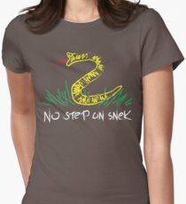 No Step On Snek 1 Womens Fitted T-Shirt