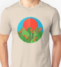 Squirrel Family / Cute Animals Unisex T-Shirt