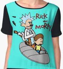 Rick & Morty Women's Chiffon Top
