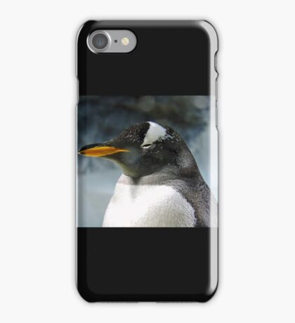 Sleepy Snowy Penguin iPhone Case/Skin