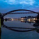 Rainbow Bridge at Twilight by Jim Stiles