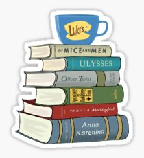 Rory's Books Sticker