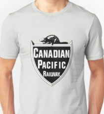 Canadian Pacific Railway Unisex T-Shirt