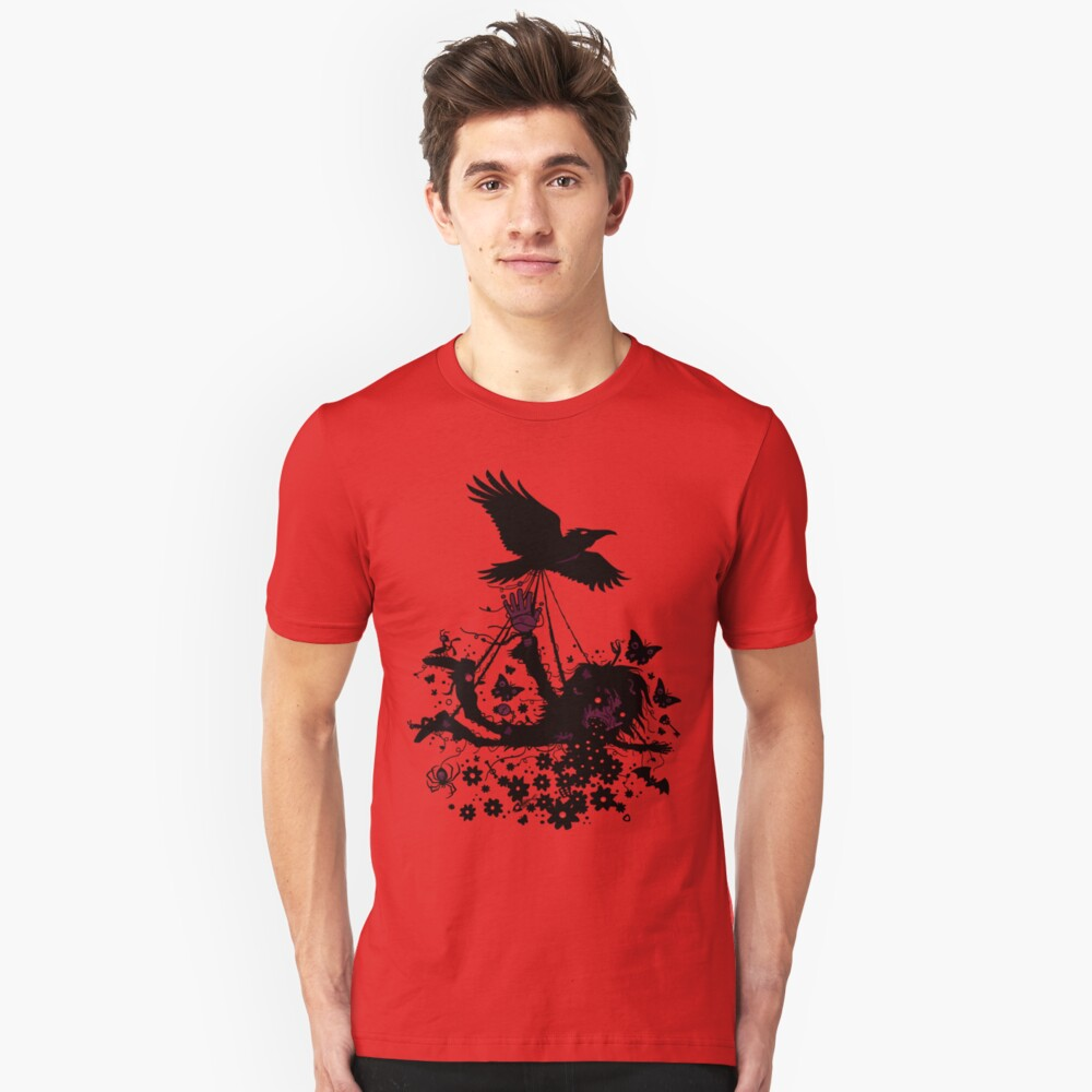 Strange Trip Through The Sky Slim Fit T-Shirt