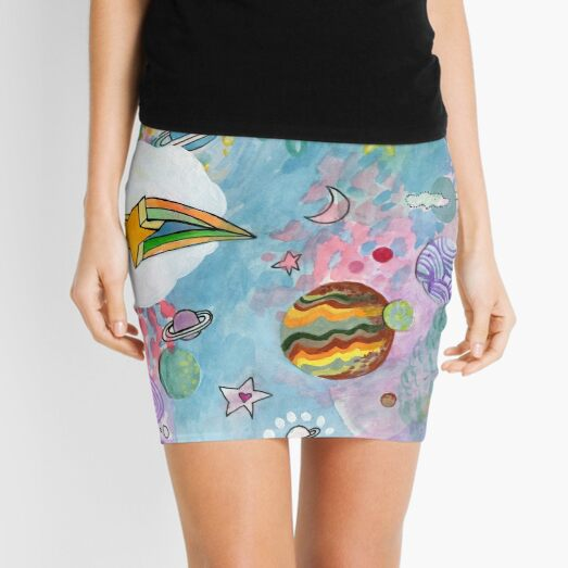 Planets Mini Skirt
