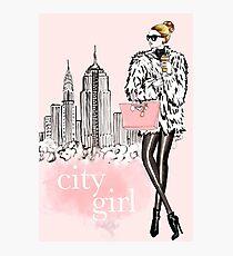 City Girl Photographic Print