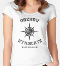Orzhov Syndicate Guild Women's Fitted Scoop T-Shirt