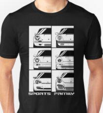 Sports family. Porsche 911 Unisex T-Shirt