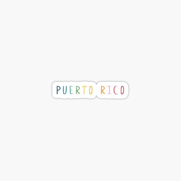 Puerto Rico Pegatina