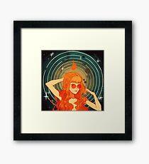 Cosmic Symmetry Framed Print