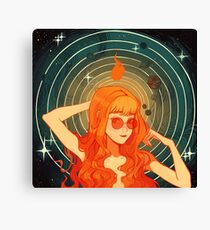 Cosmic Symmetry Canvas Print