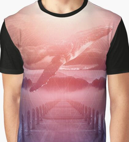 Space Between Dreams & Reality Graphic T-Shirt