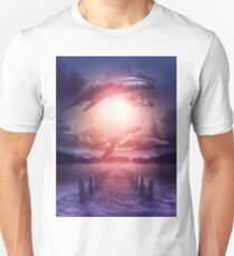 Space Between Dreams & Reality Unisex T-Shirt