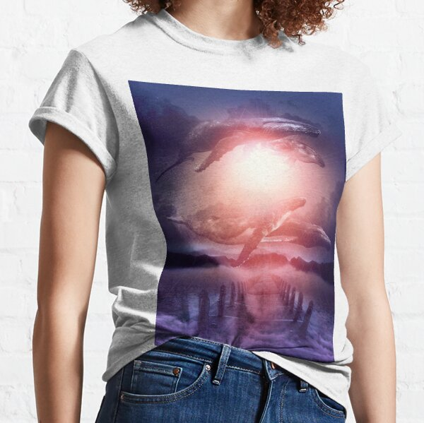 Space Between Dreams and Reality Classic T-Shirt