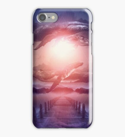 Space Between Dreams & Reality iPhone Case/Skin