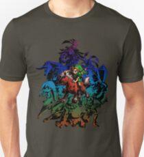 Camiseta ajustada Máscara de Majora - Coloreado