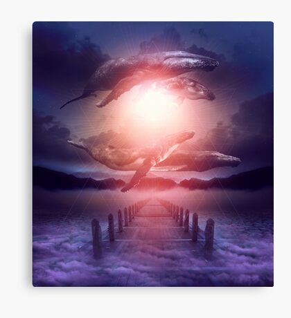 Space Between Dreams & Reality Canvas Print