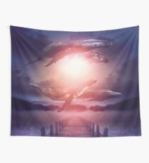 Space Between Dreams & Reality Wall Tapestry
