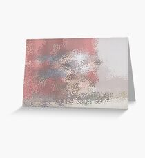 Abstract textured background Greeting Card