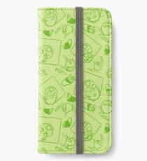 Peridotmuster iPhone Flip-Case/Hülle/Skin
