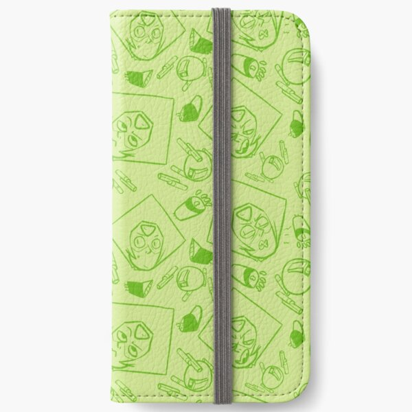 peridot pattern iPhone Wallet