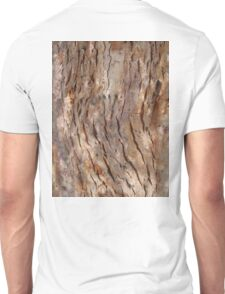 BARK, WOOD, Texture, Cracked, Tree, Nature, Natural Unisex T-Shirt
