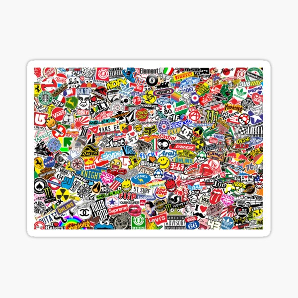 Stickerbomb Sticker