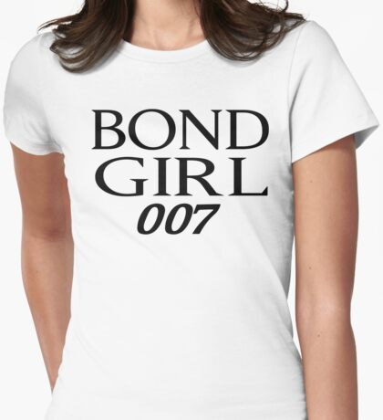 Bond Girl Womens Fitted T-Shirt