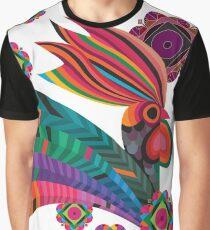 Rooster, Gallo de fuego. Graphic T-Shirt