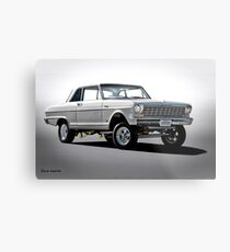 1965 Chevrolet Nova 'B Gas' Gasser Metal Print