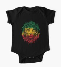 Rasta Lion One Piece - Short Sleeve