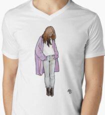 Cozy Cardigan T-shirt col V homme