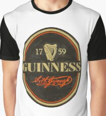VINTAGE GUINNESS LOGO Graphic T-Shirt