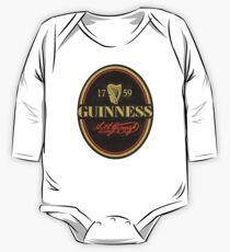 VINTAGE GUINNESS LOGO One Piece - Long Sleeve