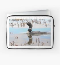 Magestic Yellow-billed Loon Reflections Laptop Sleeve