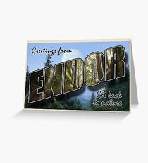 Endor Postcard Greeting Card