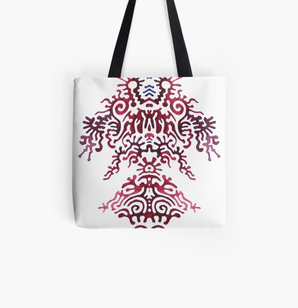 this has no title yet All Over Print Tote Bag