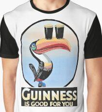 VINTAGE GUINNESS TOUCAN Graphic T-Shirt