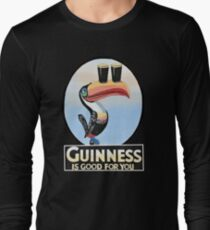 VINTAGE GUINNESS TOUCAN Long Sleeve T-Shirt