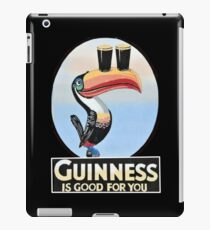 VINTAGE GUINNESS TOUCAN iPad Case/Skin