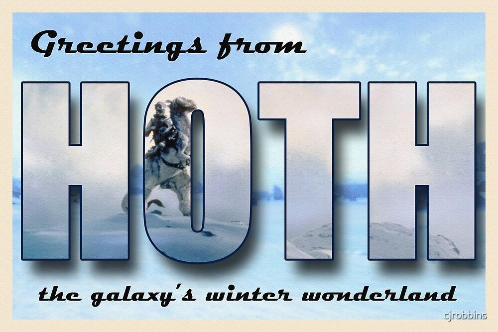 Hoth Postcard by cjrobbins