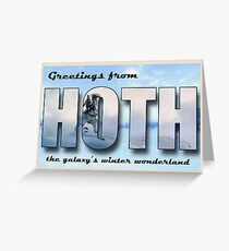 Hoth Postcard Greeting Card