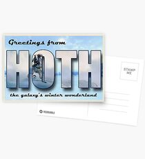 Hoth Postkarte Postkarten