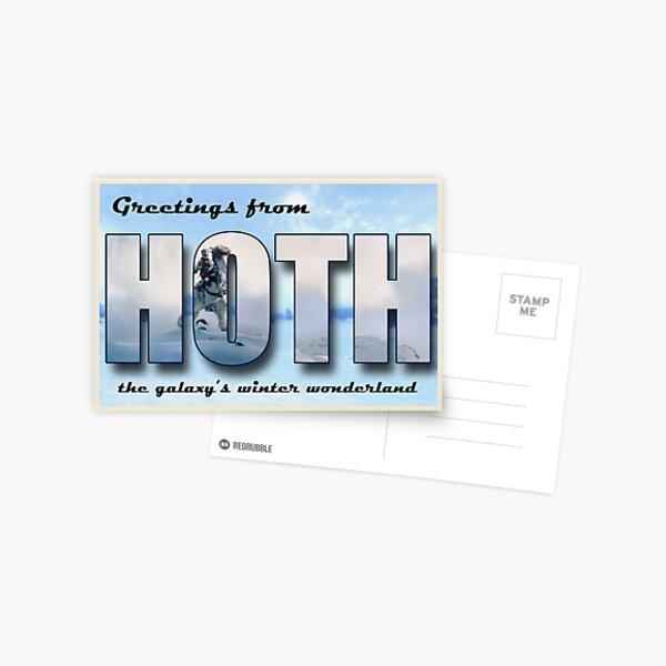 Hoth Postcard Postcard