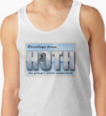 Hoth Postcard Tank Top