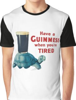 VINTAGE GUINNESS TURTLE Graphic T-Shirt