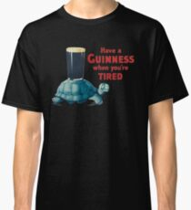 VINTAGE GUINNESS TURTLE Classic T-Shirt