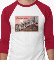 Tatooine Postcard Men's Baseball ¾ T-Shirt