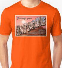Tatooine Postcard Unisex T-Shirt