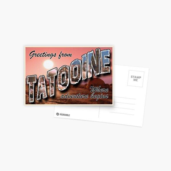 Tatooine Postcard Postcard